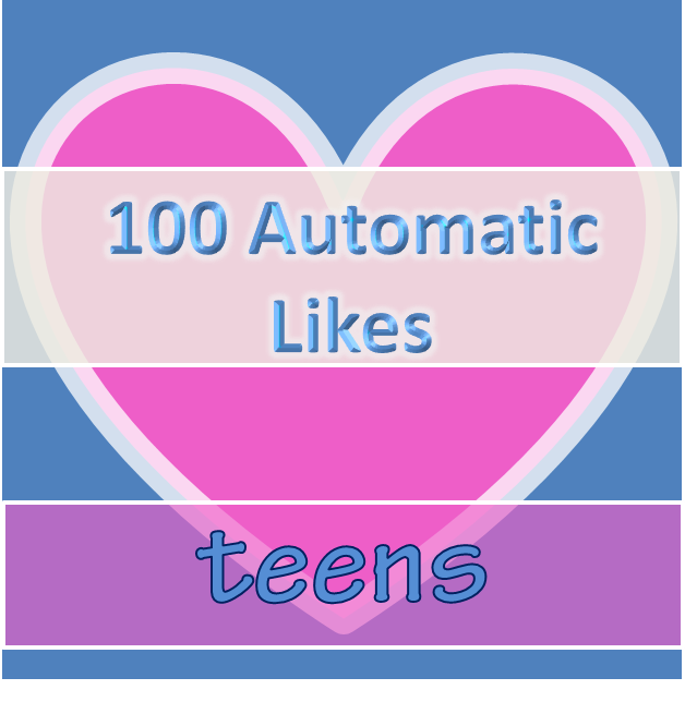Auto Likes Daily – Teenagers pack | Instagram Auto Like
